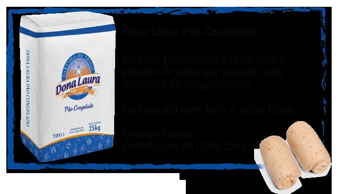 Dona Laura Pão Congelado