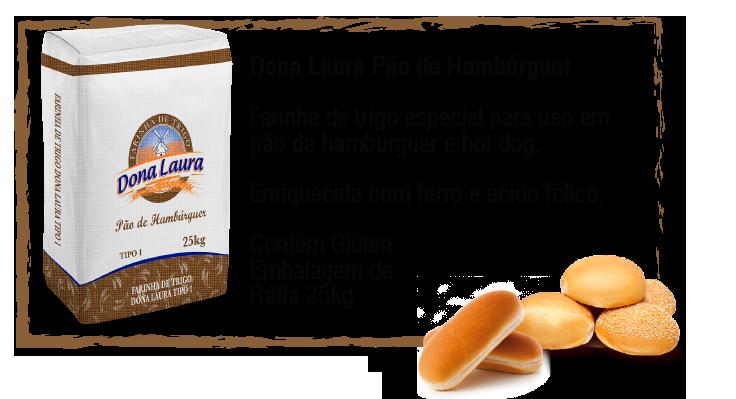 Dona Laura Pão de Hambúrguer