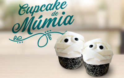 Cupcake Múmia